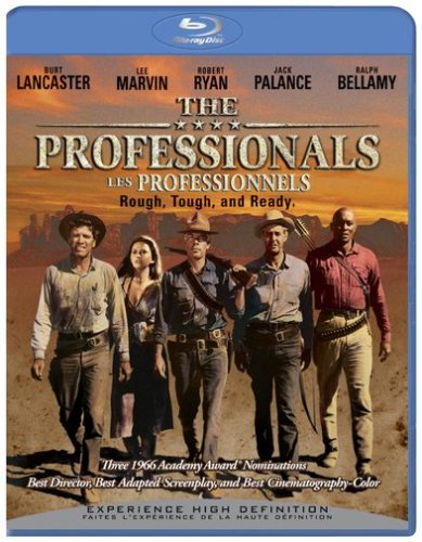 The Professionals (Bilingual) [Blu-ray] Burt Lancaster Lee Marvin Robert Ryan Woody Strode