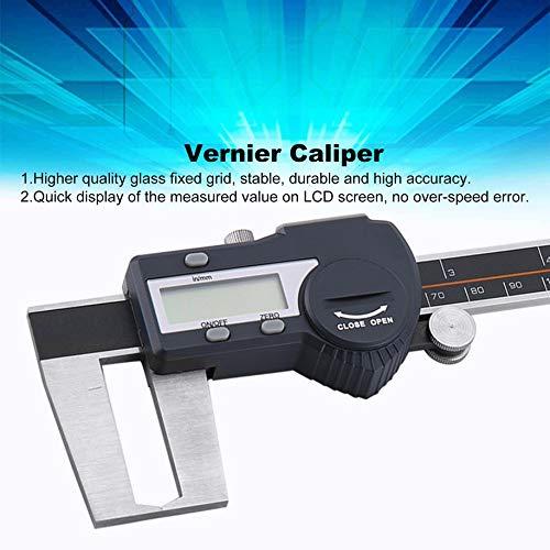 Bluetooth Vernier Caliper, SHAHE 0-12.7mm Split Type Digital Dial Indicator Gauge Precision Tool With LCD Display Unit 0.01mm Digital Display Unit