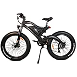 Addmotor® MOTAN Electric Bicycles For Sale M-850 500W 48V Bafang Rear Hub Motor 10.4AH Samsung Battery Electric Bike For Big Guys With Fork Suspension And Spring Shock Absorber