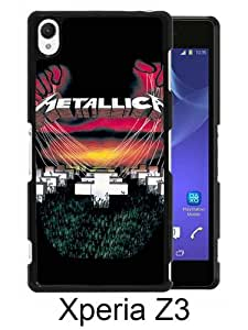 Sony Xperia Z3 case,Unique Design Metallica Master Of Puppets Black cell phone case for Sony Xperia Z3