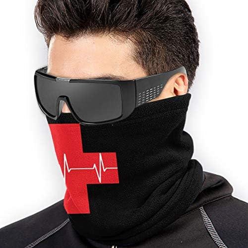 First Aid Cardiopulmonary Doctor ネックカバー UVカット バンダナ 日よけ 顔 フェイスガード 多機能 日よけ サイクリングカバー