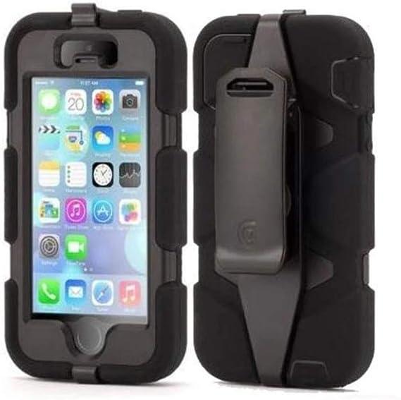 Griffin Survivor Case for iPhone 5/5S/SE Black/Black (GB397322 ...