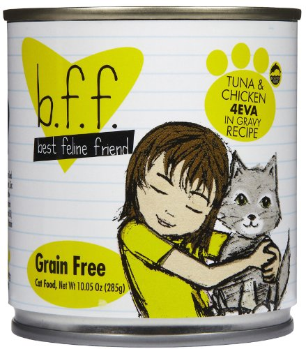 B.F.F. - Best Feline Friend, Tuna & Chicken 4-Eva with Tuna