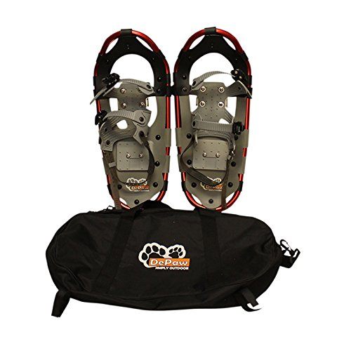New MTN Extreme Lightweight All Terrian Man Woman Kid Teen Snowshoes +Pole + Free Bag (19inch) by MTN Snowshoes