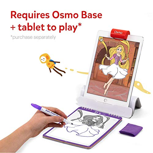 Osmo - Super Studio Disney Princess - Ages 5-11 - Drawing Activities - For iPad or Fire Tablet (Osmo Base Required)