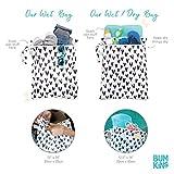 Bumkins Reusable Waterproof Wet Bag with Zipper