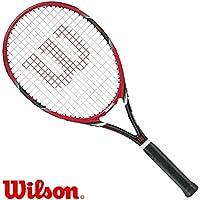 Wilson FEDERER TEAM 105 rot/schwarz - Tennisschläger - Griff L3