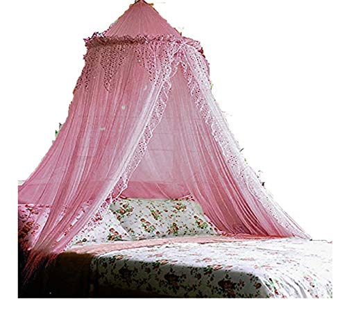 Jeweled Bling Princess Canopy By Sid (Pink)