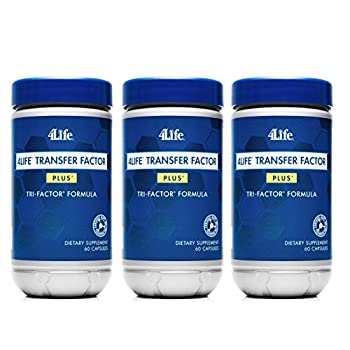 Image of x 3 Transfer Factor Plus Tri-factor - (60 count) 3 Bottles Health and Household