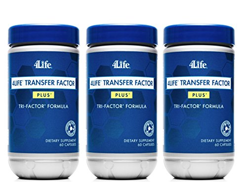 x 3 Transfer Factor Plus Tri-factor - (60 count) 3 Bottles