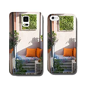 House plants on the balcony cell phone cover case Samsung S6