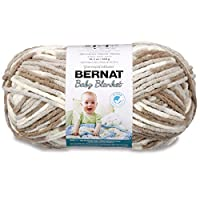 Bernat Baby Blanket Big Ball Yarn (04011), Little Sandcastle