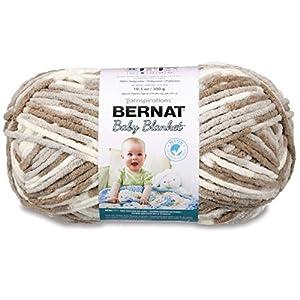 Bernat Baby Blanket Big Ball Yarn (04011), Little Sandcastle