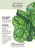 Search : Bloomsdale Spinach Seeds-2.5 grams-Cerrtified Organic