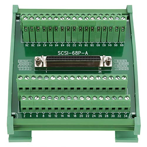 SCSI-68P-A Female Connector Breakout Board Terminal Module