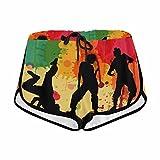 InterestPrint Street Dance Hip Hop Style Activewear Casual Lightweight Lounging Shorts Women XL
