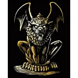 Arts & Crafts : Royal Brush Gold Foil Engraving Art Kit, 8 by 10-Inch, Lion Gargoyle