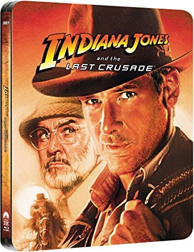 Indiana Jones and the Last Crusade - Zavvi Exclusive Limited Edition Steelbook Blu-ray by Paramount Home Entertainment/Lucas Films