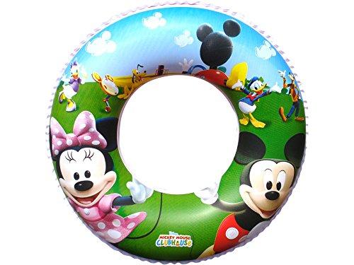 Bestway Flotador Hinchable Mickey Mouse Clubhouse 56 Cm 91004B: Amazon.es: Juguetes y juegos
