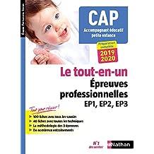 CAP Accompagnant éducatif petite enfance - Épreuves professionnelles EP1, EP2 et EP3 (CONCOURS PARA M)
