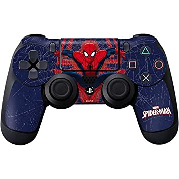 Amazon.com: Marvel Spider-Man PS4 Controller Skin - Spider-Man Web: Electronics