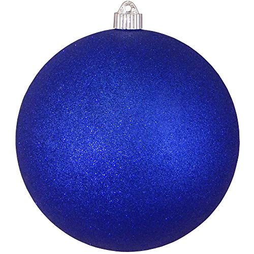 Christmas by Krebs KBX13017 Patriotic Decoration-Commercial grade, Water-Resistant 4th of July/Memorial Day/Military Celebration, 8-Inch, Dark Blue Glitter