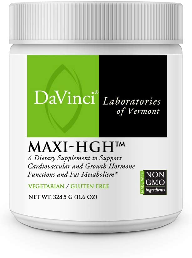 DaVinci Laboratories Maxi-HGH, 30 Servings - Vegetarian Post Workout Recovery Powder - Build Lean Body Mass, Heart Health Support