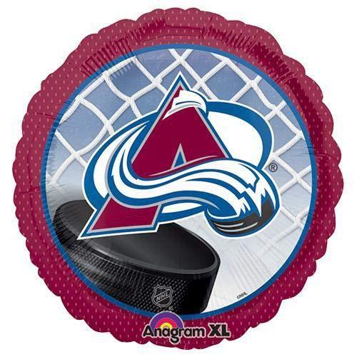Anagram A1138 2 NHL Colorado Avalanche Hockey Team Foil Balloon, 18