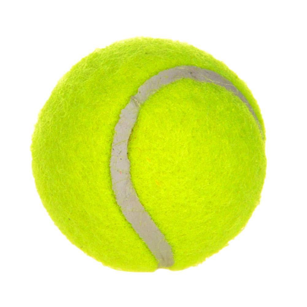 Seawang en Caoutchouc Animal Balle Jouet Grande Gonflable Chiot Balle de Tennis pour Animal Domestique Chien Fun Jouet
