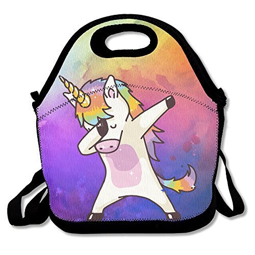 bow Lunch Tote Bag Bags Awesome Lunch Handbag Lunchbox Box For School Work Outdoor ()