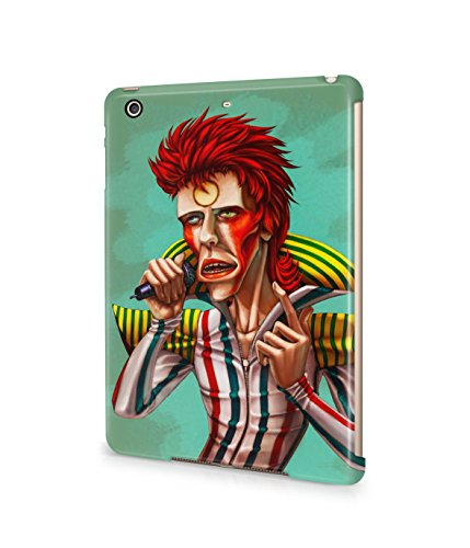 [Ziggy Stardust Costume David Bowie Plastic Snap-On Case Cover Shell For Apple iPad Mini 2 / 3] (Kevin Mccallister Costume)