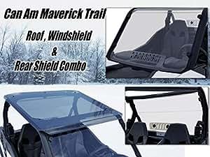 Amazon Com Can Am Maverick Trail Windshield Roof Rear