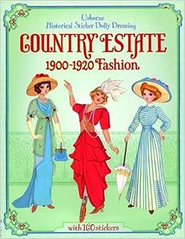 Sam Lake Historical Sticker Dolly Dressing Victorian Fashion