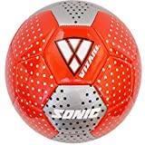 Vizari Sonic Soccer Ball Size Red, 5