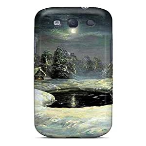 Sanp On Case Cover Protector For Galaxy S3 (long Winter's Night)