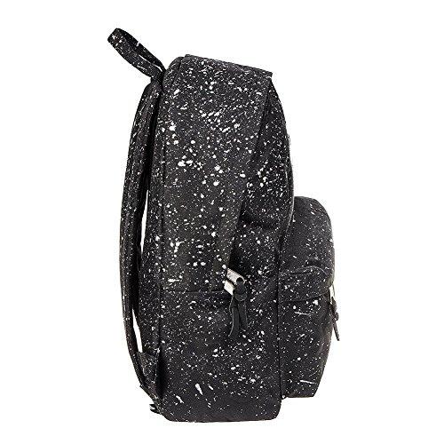 HYPE. Clothing Hype bag (Splatter) Black / Silver, Borsa a spalla uomo nero Black Taglia unica