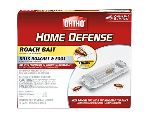 Ortho 0464912 Home Defense Roach Bait Station, 8 Pk