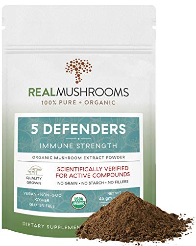 5 Defenders Organic Mushroom