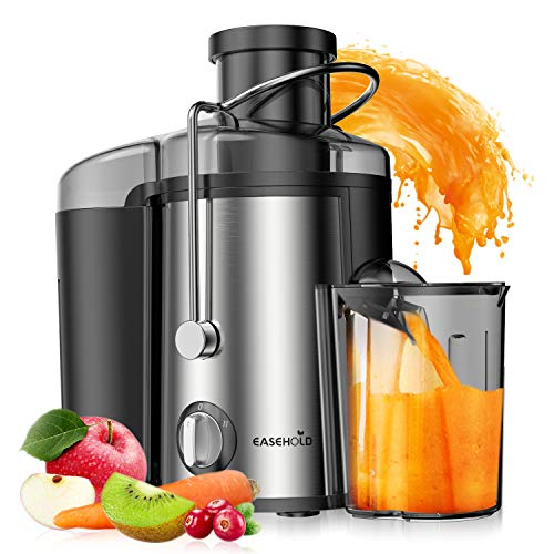 Best Buy! Easehold Juicer Machines Extractor 600W Centrifugal Juicers Electric Anti-Drip Dual Speed ...