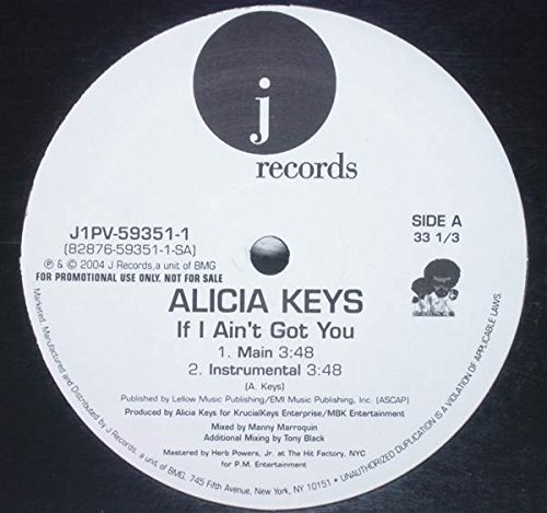 If I Ain't Got You [Vinyl]