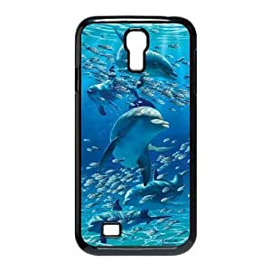 Dolphins Cute Pattern Hard Shell Phone Case Cover For Samsung Galaxy S4 Case 15