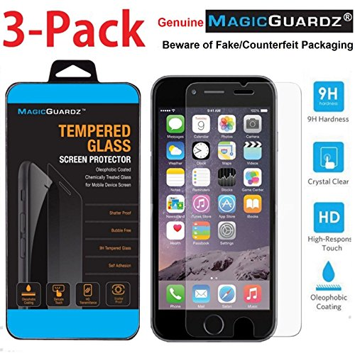 MagicGuardz Premium Tempered Glass Screen Protector for Apple iPhone 7 Plus
