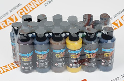 Auto-Air Colors 2oz Candy2o Complete Master set Custom airbrush candy paints. by SprayGunner by Auto Air Colors
