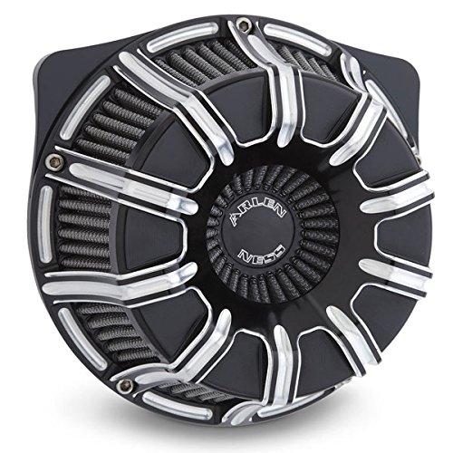 Arlen Ness Air Cleaner (Arlen Ness Inverted Series 10-Gauge Black Air Cleaner Kit)