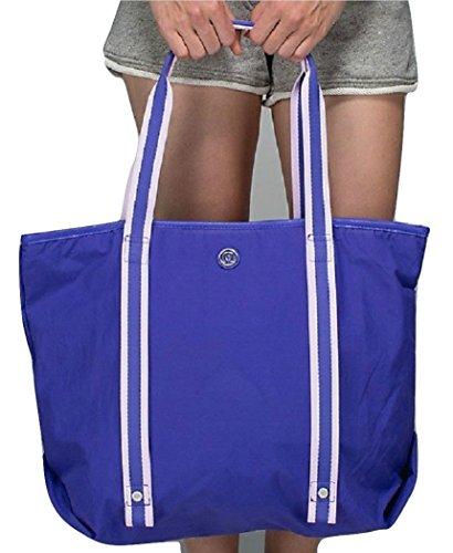 Lululemon Summer Lovin Tote Bag (Iris Flower Purple) by Lululemon