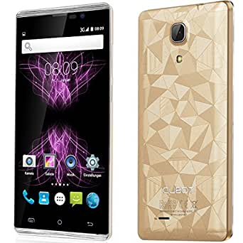 "Cubot P11 - Smartphone libre Android (pantalla 5"", cámara 13 Mp, 8 GB, Quad-Core 1.3 GHz, 1 GB RAM), dorado"