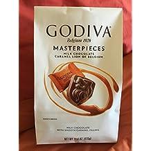 Godiva Belgium 1926 Masterpieces Milk Chocolate CARAMEL LION of Belgium 14.6 oz. (Pack of 2)