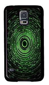 cassette Samsung S5 covers Green Circle Best PC Black Custom Samsung Galaxy S5 Case Cover