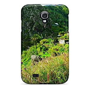 EMZ94olvm Anti-scratch Cases Covers Ggohappycases123 Protective Hermigua Gomera Spain Animal World Cases For Galaxy S4