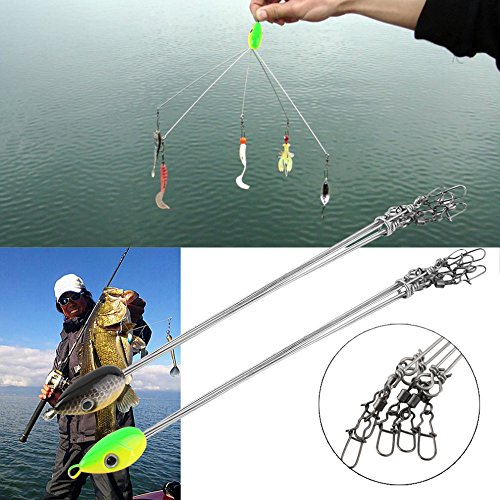 Umbrella Rig – Striper Umbrella Rig – Striper Hooks – Bass Umbrella – Suspended Lure – Wholesale Fishing Hook Combinations Convenient Outdoors Fish Lures Multifunctional Tackle Combination